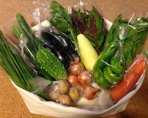 宅配夏野菜画像